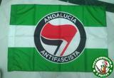 BANDERA ANDALUCIA ANTIFASCISTA, ALMERIA
