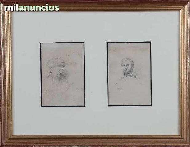 Retratos de dama y caballero - foto 1