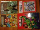 13 COMICS MORTADELO,HULK, ETC, ANTIGUOS