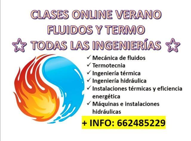 CLASES ONLINE TERMODINÁMICA Y FLUIDOS!!' - foto 1