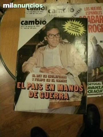 Revistas cambio 16 1984 - foto 1