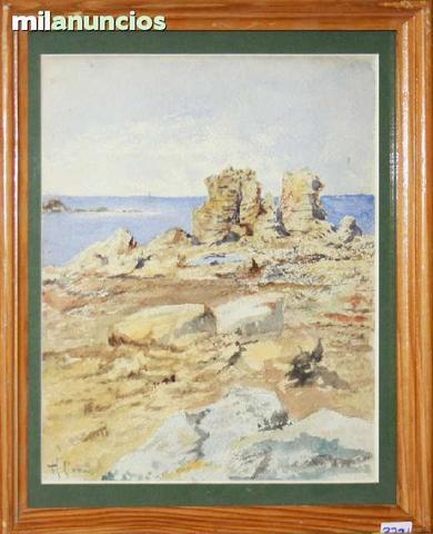 Augusto comas blanco - paisaje costero - foto 1
