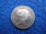 2 REALES DE PLATA. ISABEL II. AñO 1854