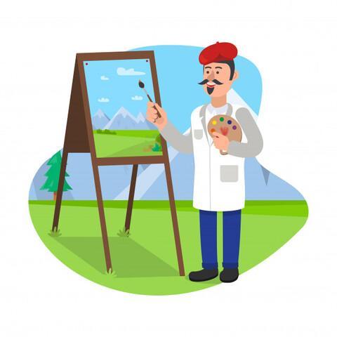 Profesor de dibujo  - foto 1