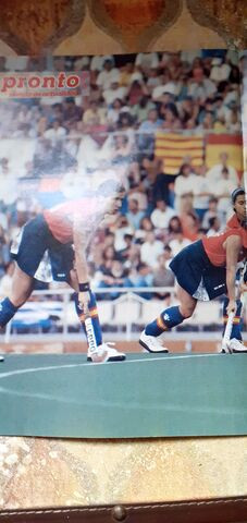 póster selección Española hockey.Femenin - foto 1