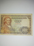 BILLETE DE 100 PESETAS 1948