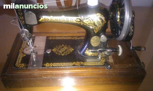 Maquina de caser Singer de mano  año1903 - foto 1