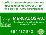 DERECHOS PAC VARIAS REGIONES AGRíCOLAS