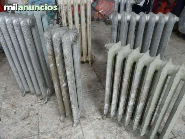 radiador labrado antiguo - foto 1