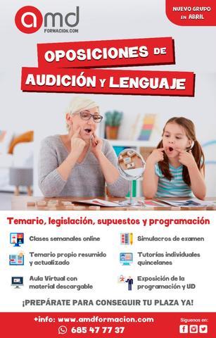 OPOSICION AUDICIÓN Y LENGUAJE ANDALUCÍA - foto 1