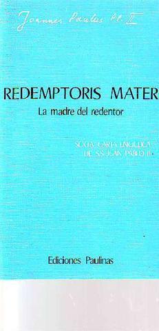 Redemptoris mater. la madre del redentor - foto 1