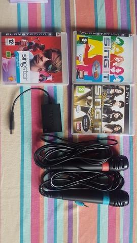 Microfonos y juegos para PS3 - foto 1