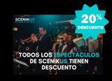 ¡¡EVENTOS EN SCENIKUS AL 20% DTO!!