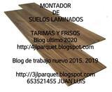 instalador de suelos de maderas laminado - foto