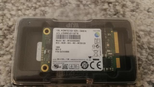 Samsung  mSata 250GB - foto 1