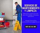 Servicio de mantenimiento y limpieza - foto