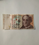 BILLETE DE 5000 PESETAS. SERIE 5K