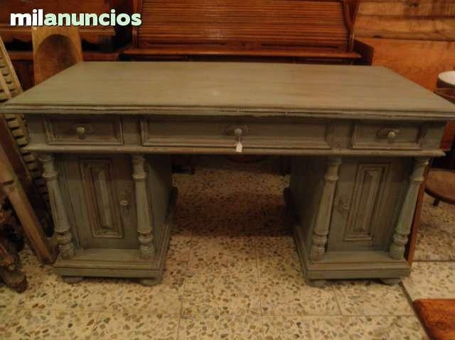 Antigua mesa escritorio finales xix - foto 1