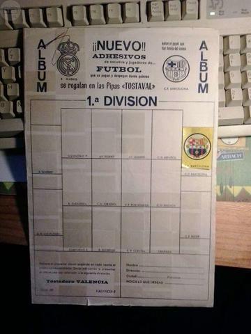 Album futbol campeonato liga pipas - foto 1