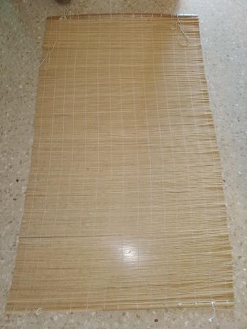 cortina persiana de mimbre natural - foto 1