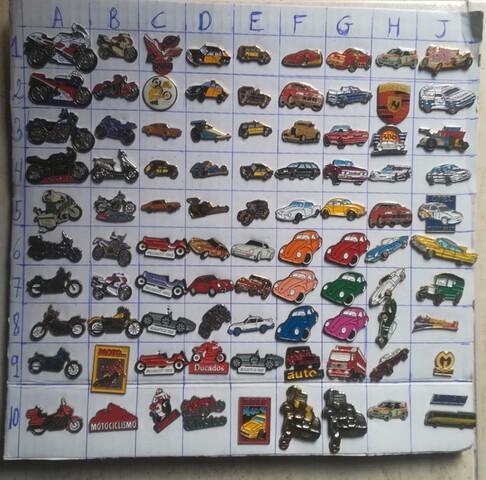 PINS COCHES Y MOTOS  - foto 1