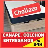 CANAPE Y COLCHóN 135X190 MATRIMONIO &&&&