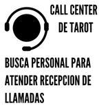 Teleoperadora call center de tarot - foto