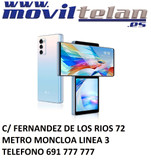 LG WING 5G 128GB AZUL CIELO IMPECABLE