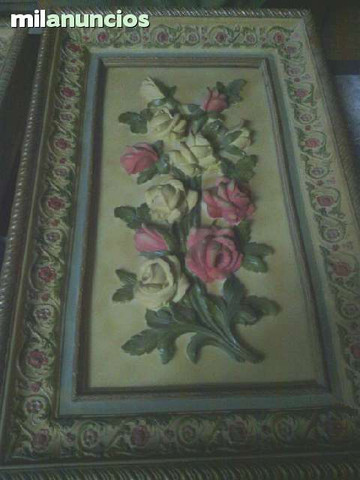 cuadros de flores 3d - foto 1
