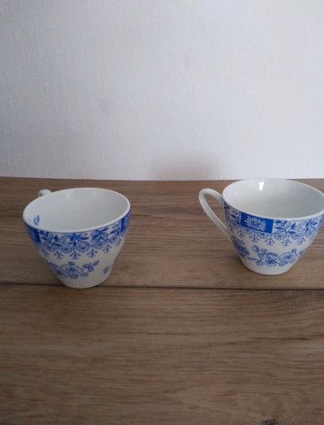 2 tazas Pontesa Ironstone China Blau - foto 1