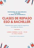CLASES DE REFUERZO 10  /H
