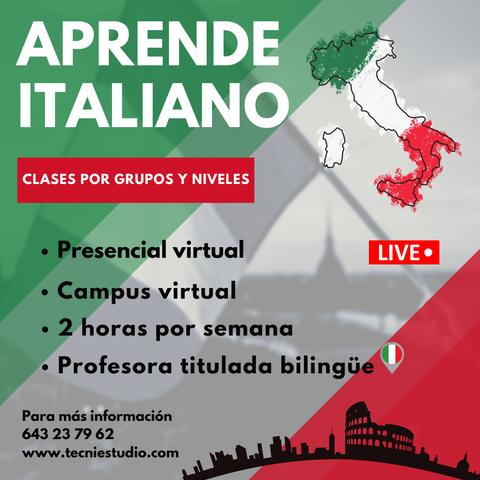 Clases de italiano - foto 1