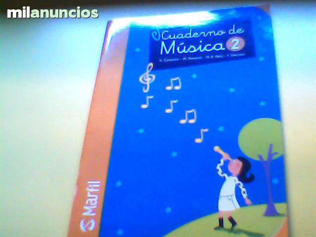 Cuaderno de Musica-2 Nuevo sin usar - foto 1