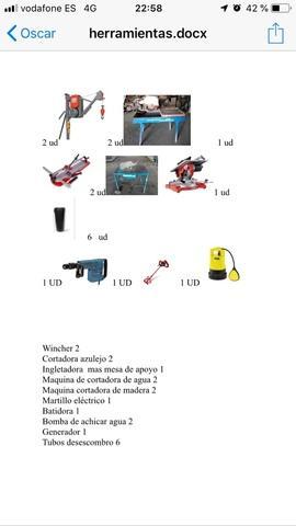 vendo herramientas por lote - foto 1