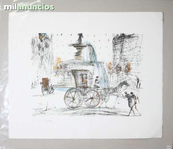 Salvador dalÍ - escena con carruaje - foto 1