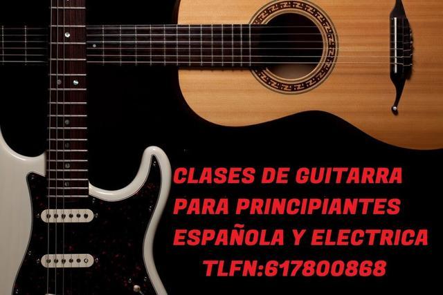 clases de guitarra - foto 1