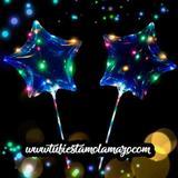 Globos LED transparentes de Estrella - foto