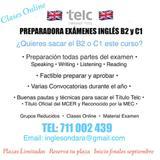 PREPARACIóN TíTULO TELC B2 Y C1 INGLéS