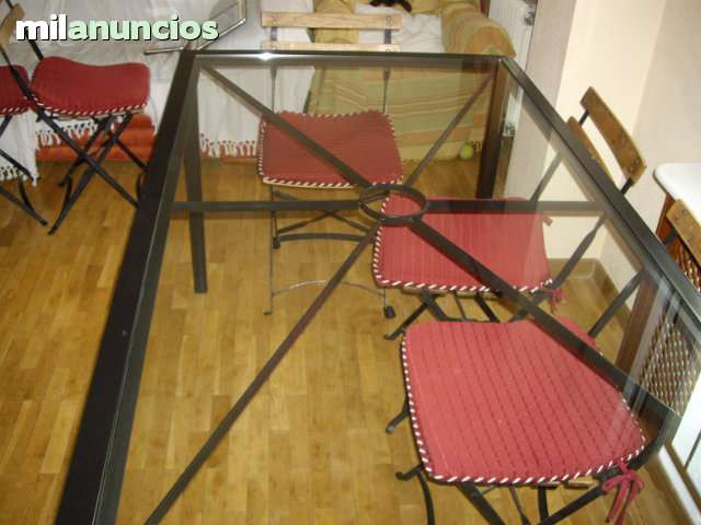 Mesa de hierro - foto 1