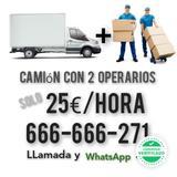 TRANSPORTES DE MUEBLES 30/HORA