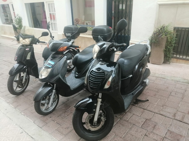 alquiler scooter 125cc - foto 1