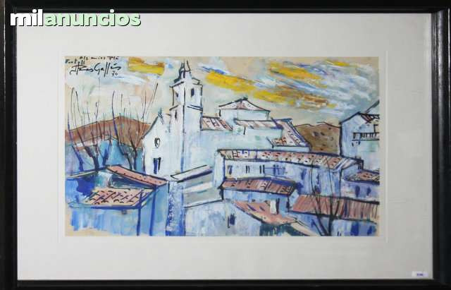 Jaume planas gallÉs - vista de pueblo - foto 1