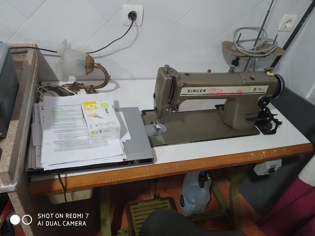 máquina de coser industrial - foto 1