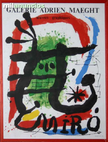 Joan mirÓ - oeuvres graphiques - foto 1