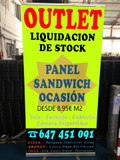 OUTLET PANEL SANDWICH DESDE 8.95 (2)