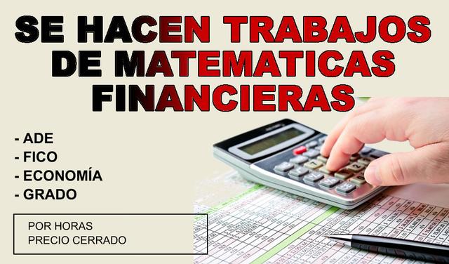 Tareas matemáticas financieras - foto 1