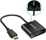 ADAPTADOR HDMI A VGA, TECHOLE HDMI A VGA