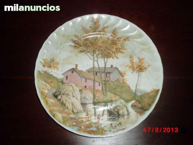 Plato de porcelana francesa - foto 1