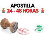 Apostillas 24 - 48 horas urgentes - foto