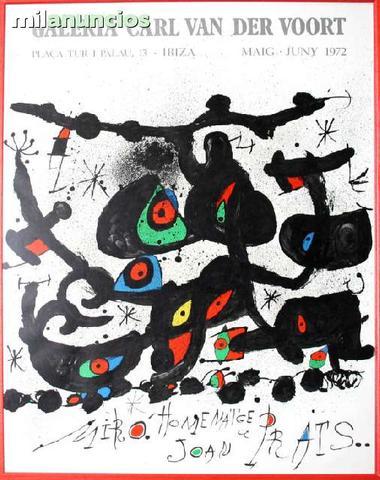 Joan mirÓ - galerie carl van der voort - foto 1